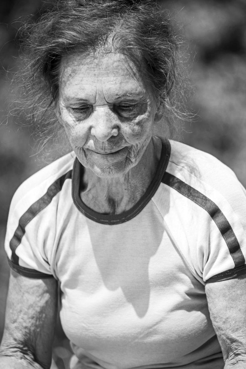 Beautiful elderly lady by Aiste Ri