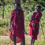 Maasai warriors by Aiste Ri